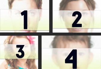 Collage mit 4 Bildern von einem schwarzen Rahmen, wo man verschiedene Bilder in verschiedenen Größen platzieren können und wenden Sie einen Foto-Filter und fügen Sie Text getrennt.