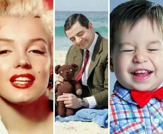 collage aus 3 vertikalen fotos mit ihren fotos