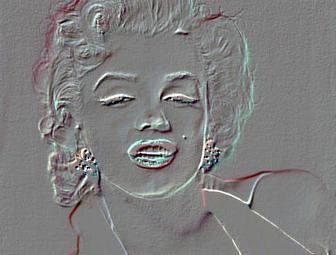 Relief Effekt auf Ihr Foto. Bearbeiten Sie Ihre Fotos mit diesem Foto Wirkung Prägung. Online Bild-Filterung.