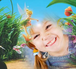 Gratis-Effekt mit einem Foto zu bearbeiten und mit Tinkerbell sein