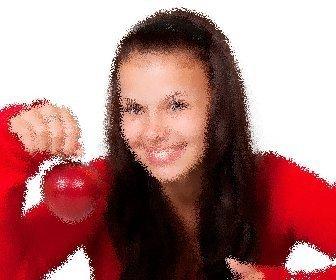 Spielen zur Anwendung dieses Filters auf Bild zittert. Ihre digitalen Fotografie wie durch ein Glas robust, mit Erleichterung gesehen, als Portal oder Bad verzerrt.