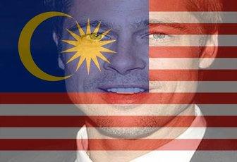 Virtuelle Filter hinzufügen auf Ihre Fotos der Malaysia Flagge über Ihre Bilder, die die Flagge von Malaysia Setzen