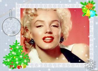 Fotorahmen mit Weihnachts-Design Online-