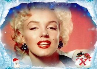 Photo Frame auf verschneiten Weihnachten mit Schneemännern zu ergänzen.