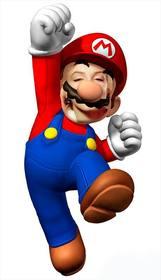 Fotomontage zu setzen Ihr Gesicht auf Super Mario und haben Spaß