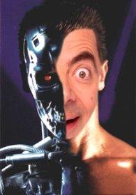 Fotomontage zu setzen Ihr Gesicht in Terminator