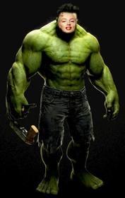 Incredible Hulk Fotomontage Ihr Gesicht
