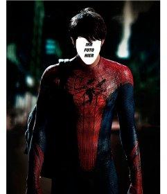 Mit dieser Fotomontage halten Sie Ihr Gesicht auf den Körper von Spiderman