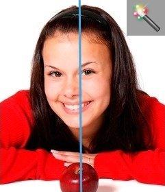 Filter Auto-Korrektur für Fotos. Korrigieren Sie die Farbbalance eines Fotos online, ohne etwas zu installieren.