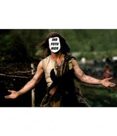 Bravehearth Fotomontage, setzen Sie Ihr Foto auf Mel Gibsons Charakter dieses berühmten Film