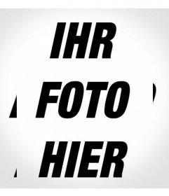Filter für Ihr Foto mit einer wiederholten Schwarz-Weiß-Effekt Ihr Foto