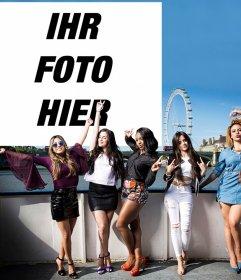 Registriert den Mädchen der fünften Harmony Ihr Foto kostenlos