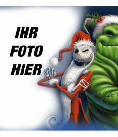 Foto-Effekt mit Jack of Nightmare Before Christmas Film