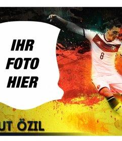 Foto-Effekt mit Mesut Özil und Ihre nächste Foto