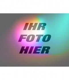 Filter Licht und Farben zu geben Ihr Foto online
