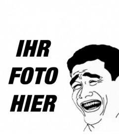 Yao Ming Meme, wo Sie Ihr Foto online zu stellen.