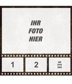 Photo Collage von Film-Film mit 4 Bilder anpassen online