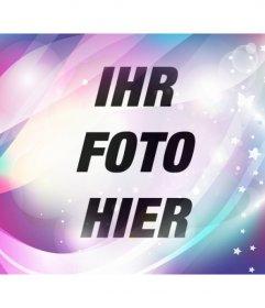 Fügen Sie einen Filter blau und lila Traum mit funkelt und Sterne, um Ihre Fotos und bearbeiten Sie sie online.