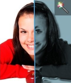 Kunststoff-Filtereffekt für Fotos ohne Photoshop
