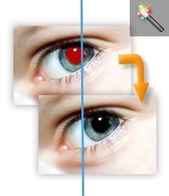 Rote-Augen-Tool zum Entfernen Sie Ihr Foto online bearbeiten