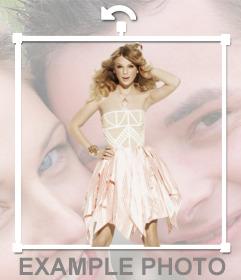 Legen Sie die Silhouette der Taylor Swift auf dem Foto, das Sie wollen, so dass der Effekt ist auf Ihrer Seite!