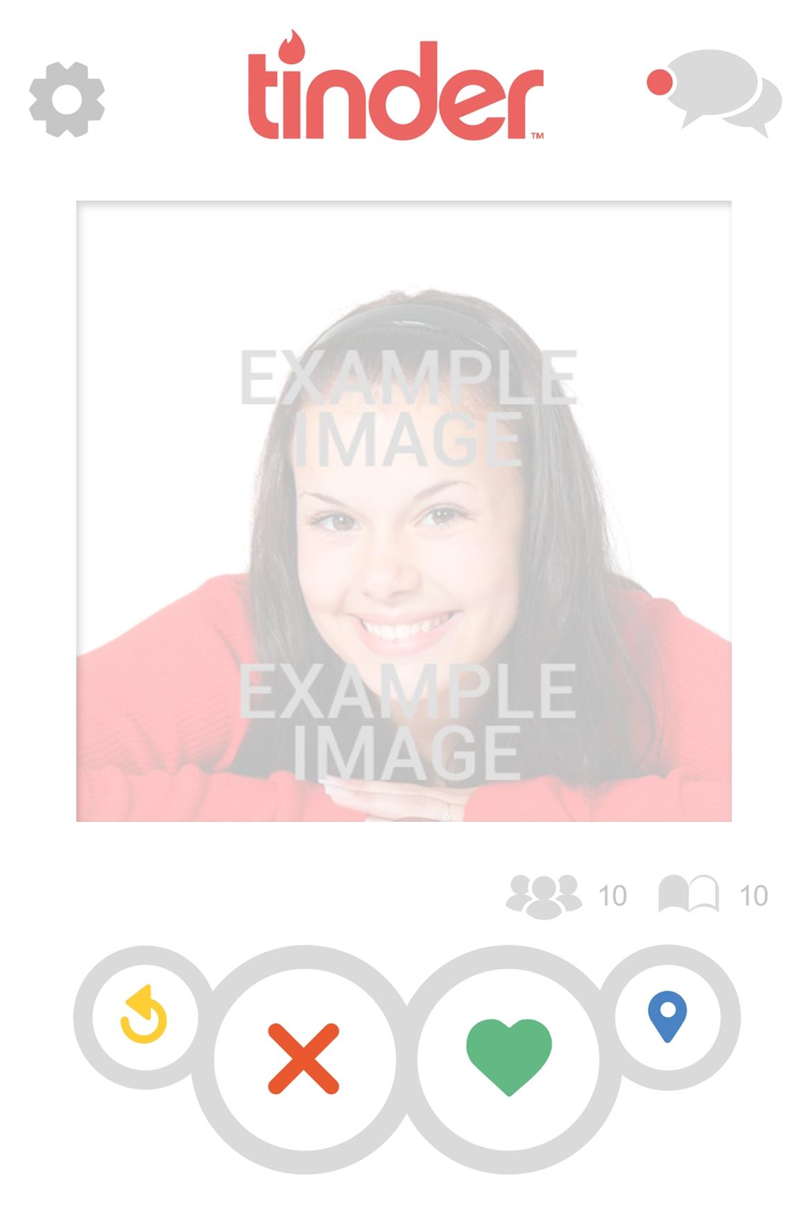 Fake Tinder Profil Fotomontage - Photoeffekte