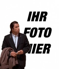 Meme Travolta verwirrt, um Ihr Hintergrundbild gesetzt. #TravoltaConfused