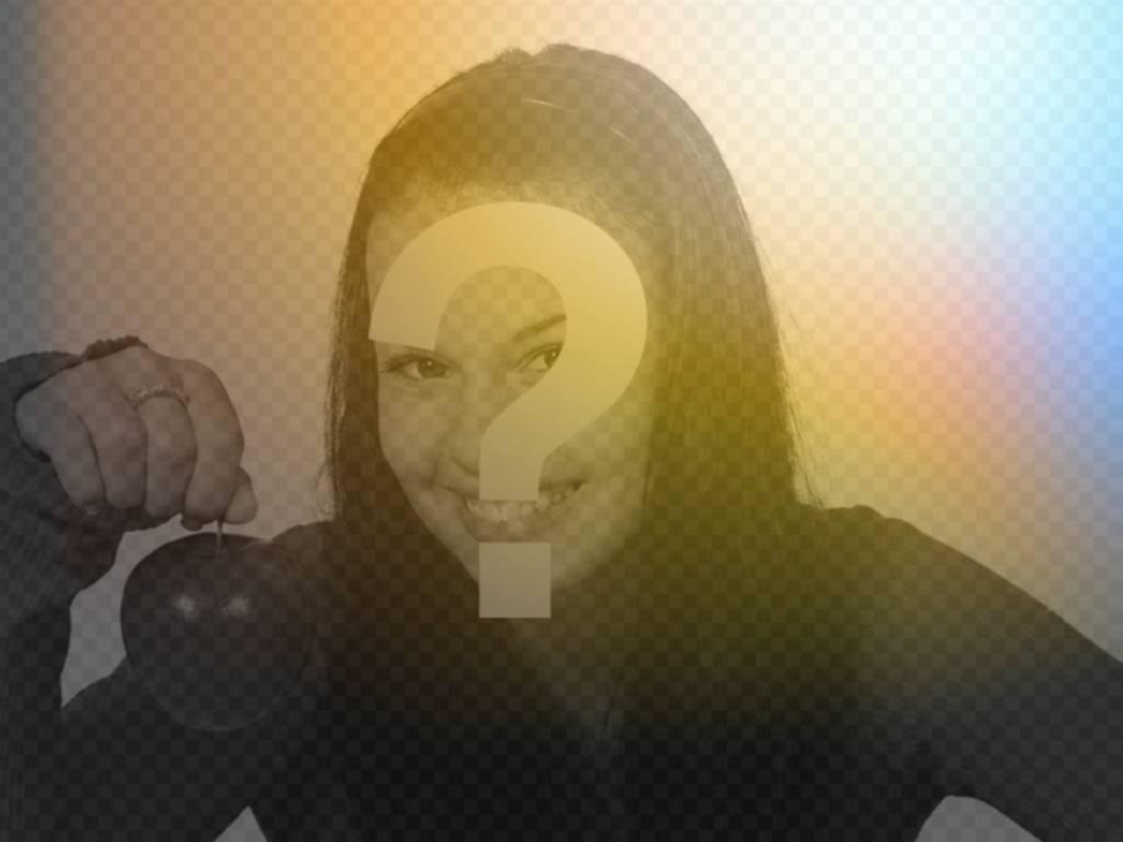Grafik-Filter von Licht und Farben zu ändern Sie Ihr Foto