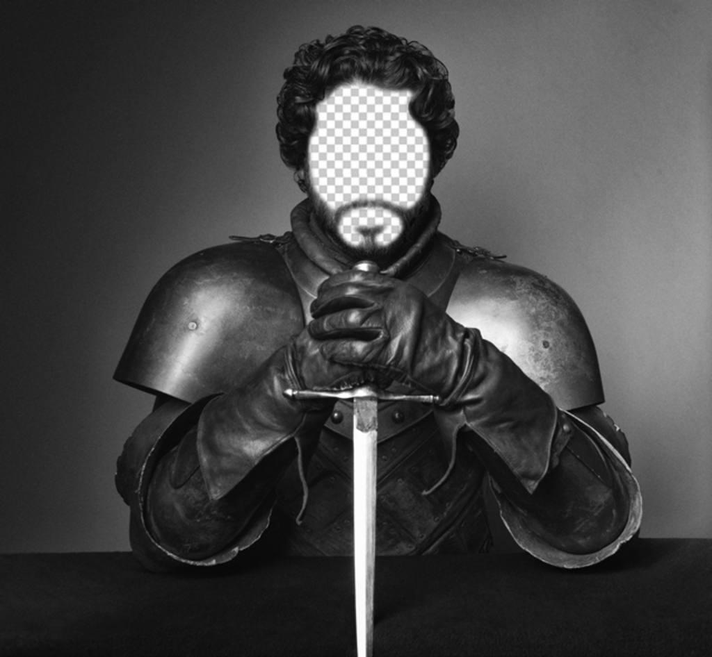 Setzen Sie Ihr Gesicht in diesem Foto von Robb Stark von Game of Thrones