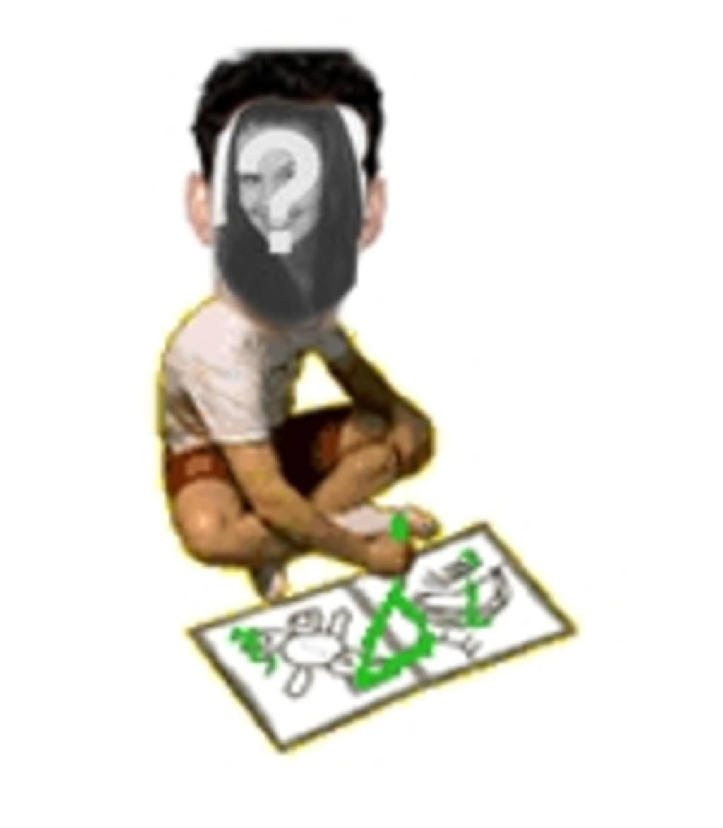 Schöne animierte Fotomontage des Kindes Zeichnung, an Ihre Freunde amüsieren. Foto hochladen, umrahmte ein Gesicht, und Sie haben diese Animation