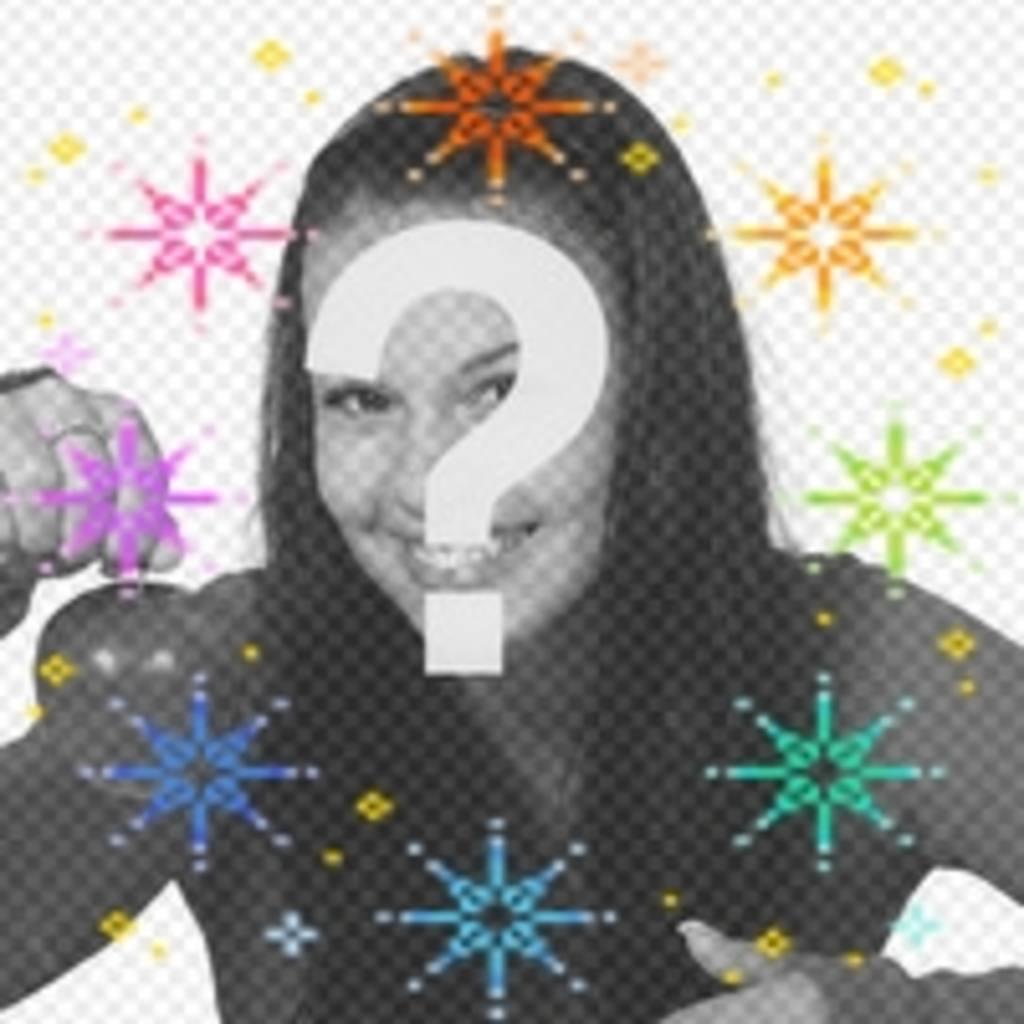 Machen Sie Ihre avatar mehr lustig mit dieser Animation der Farbe Sterne