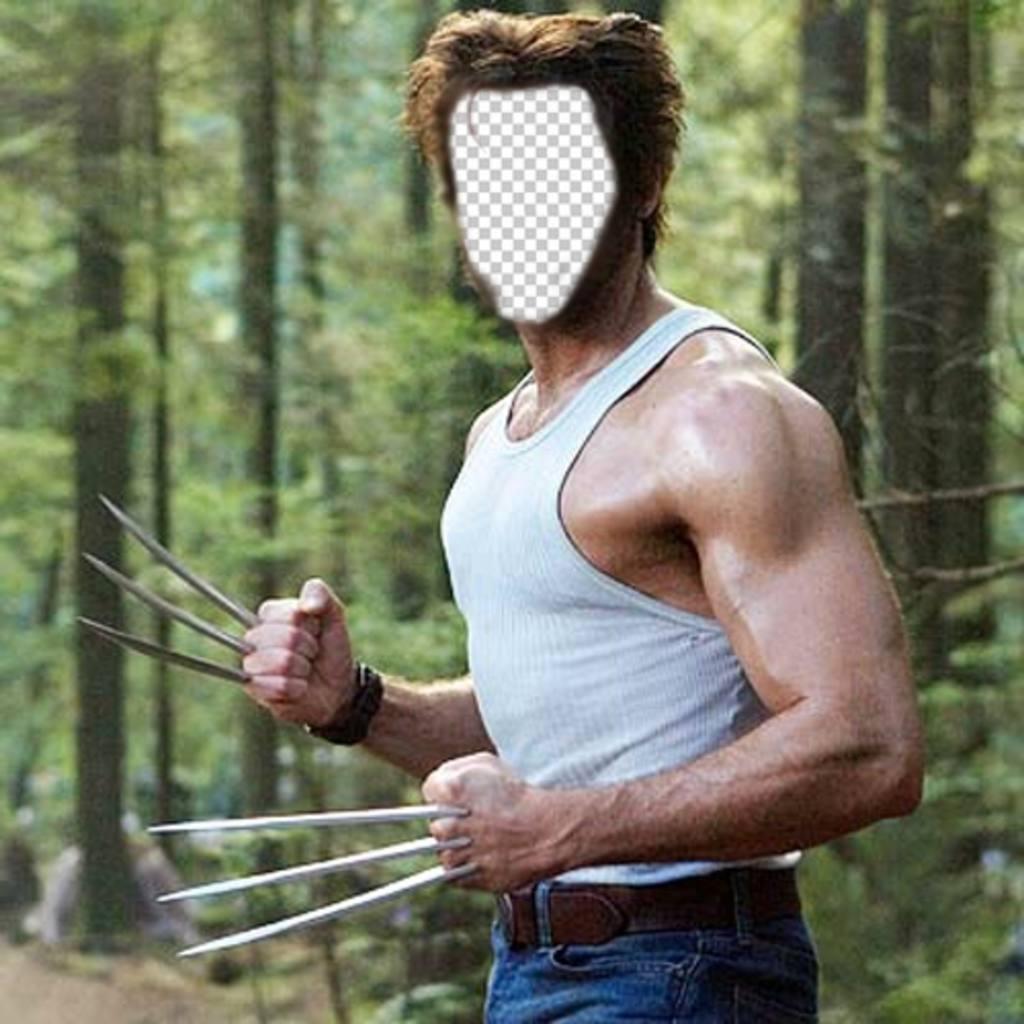 Werden Sie in Wolverine aus dem Film X-Men mit dieser Montage