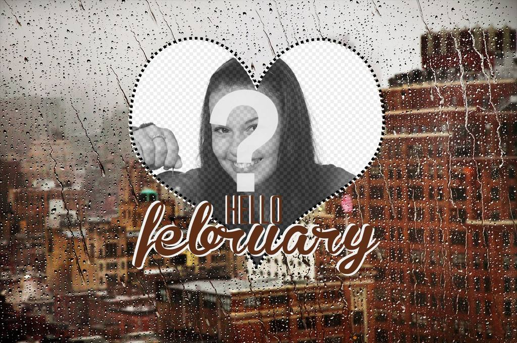 Wallpaper des Monats Februar mit Ihrem Foto erstellen