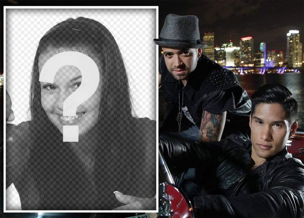 Laden Sie Ihr Foto mit Chino und Nacho Singers kostenlos