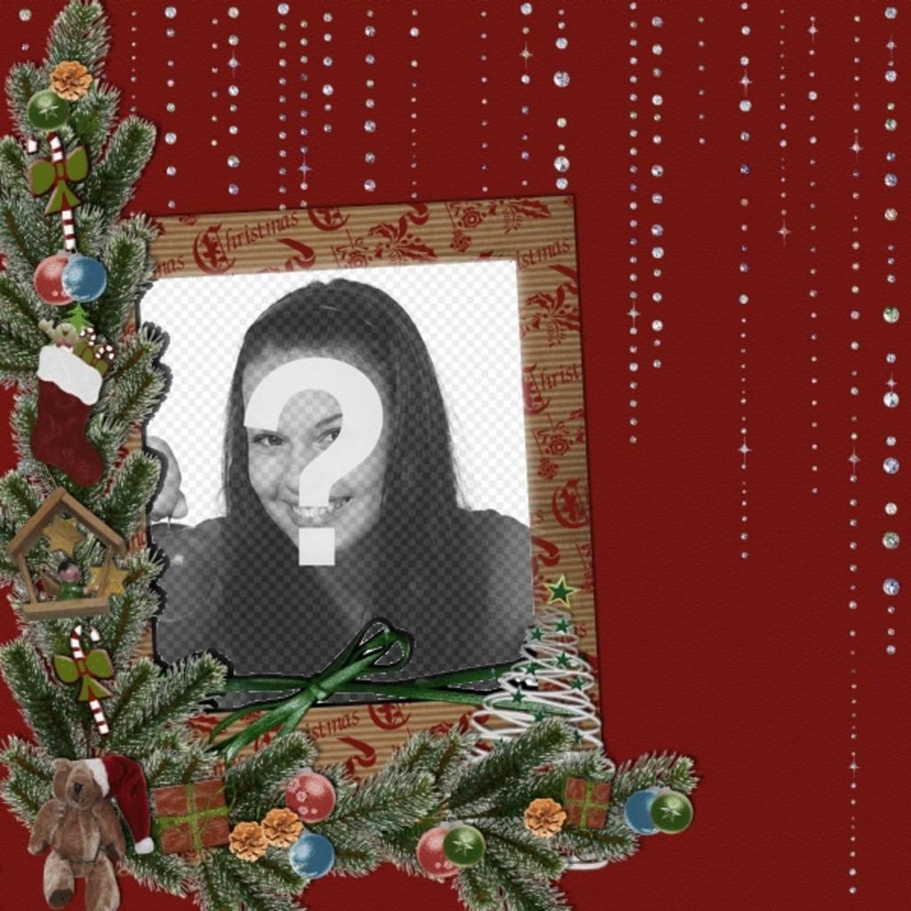 karte mit weihnachten und gl nzenden details ihr foto. Black Bedroom Furniture Sets. Home Design Ideas