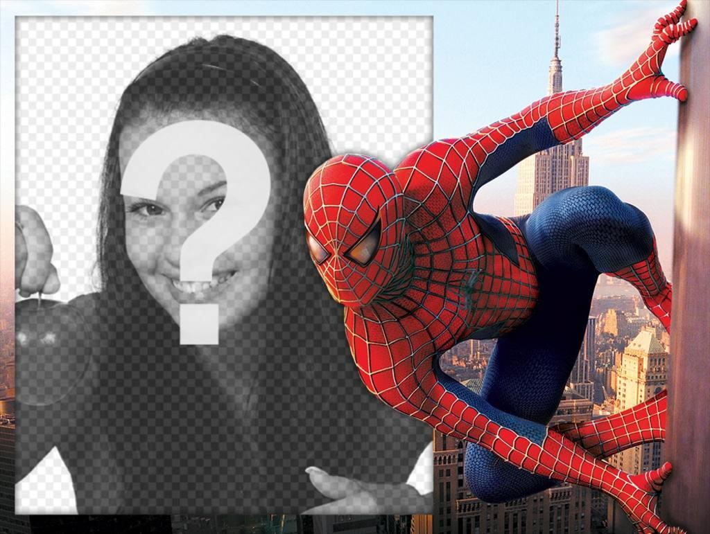 Spiderman Foto-Effekt mit Ihrem Bild zu bearbeiten