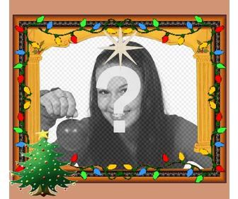 Animierte Weihnachtskarten.Weihnachtskarten Mit Lichtern Animiert Photoeffekte