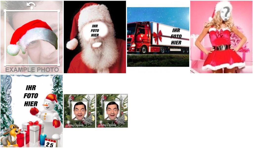 Weihnachtsgrüße Personalisiert.Lustige Weihnachtsgrüße Online Personalisieren Photoeffekte