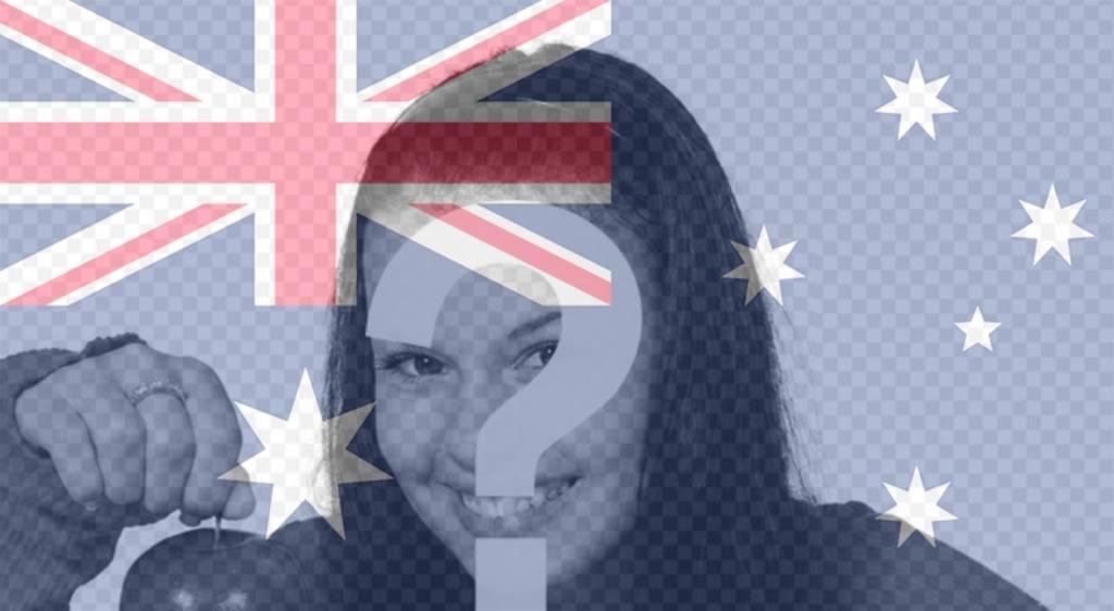 Profilbild Mit Flagge Hinterlegen