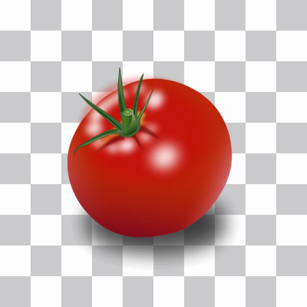 Tomato Aufkleber Gesichter in Fotos zu verstecken