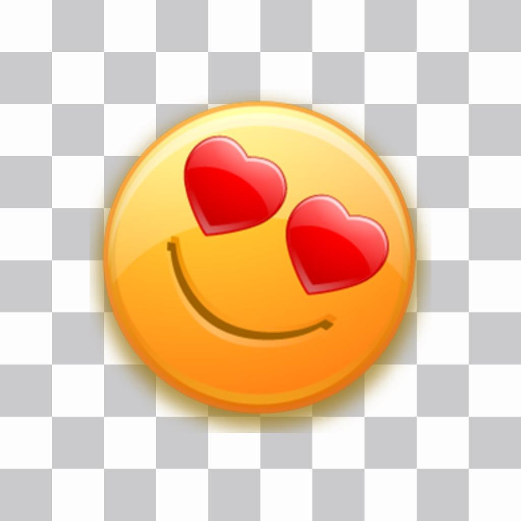 In herzen augen den mit smiley Der süße
